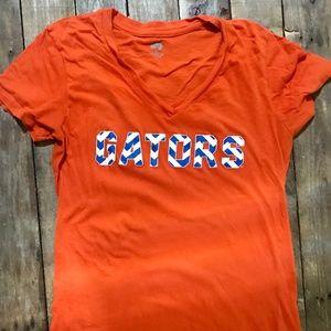 V Neck Florida Gator T-Shirt